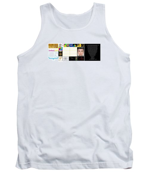 Finding Phi Tank Top by Peter Hedding