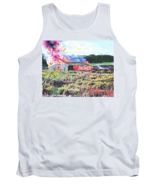 Fire At Whitney Beef Tank Top