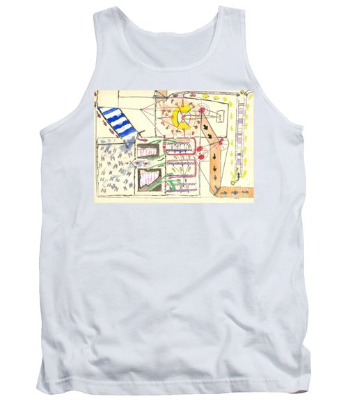 First Abstract Tank Top