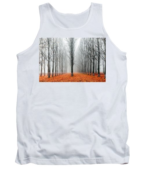 First In The Line Tank Top