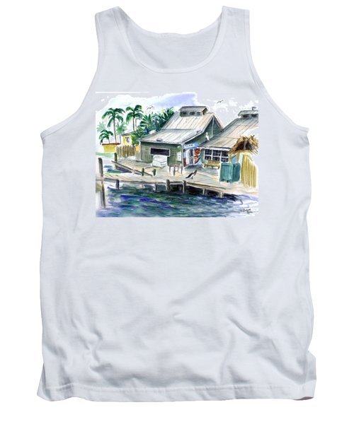 Fish House Tank Top