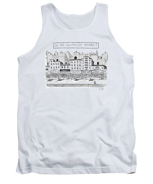 Five Stores On A Street Make-up The Nostalgia Tank Top