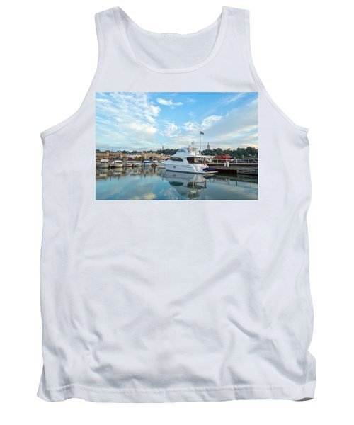 Flag View II Tank Top by James  Meyer
