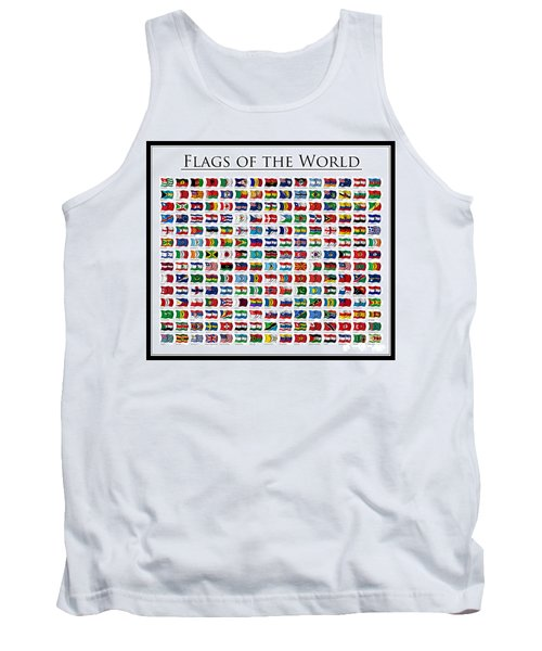 Flags Of The World Tank Top