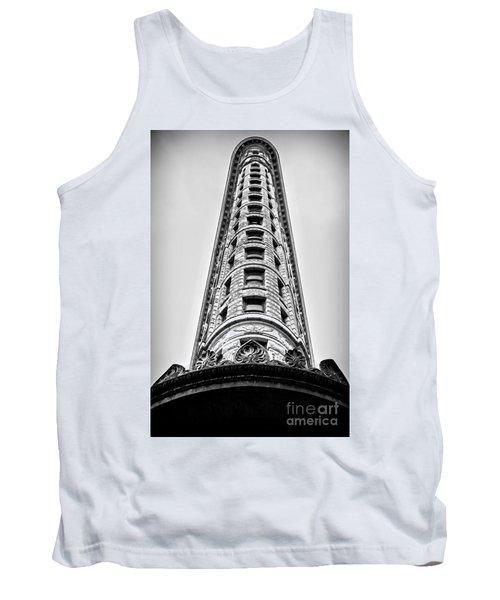 Flatiron Building - Prow Tank Top by James Aiken