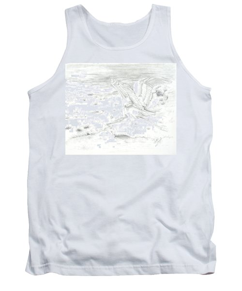 Flight Of Grace Tank Top