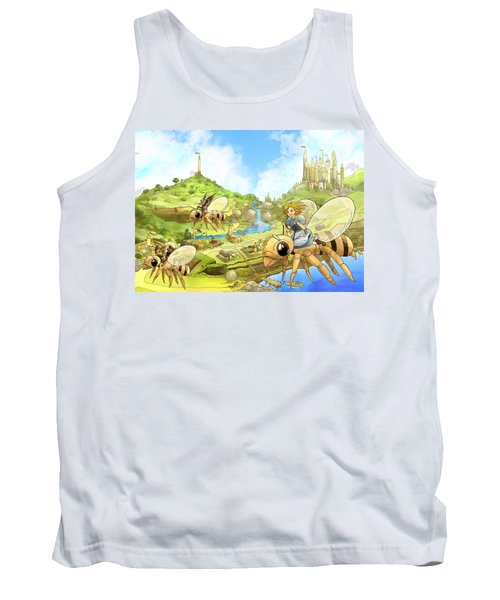 Flight Over Capira Tank Top