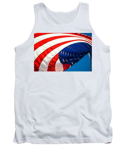 Floating Flag  Tank Top