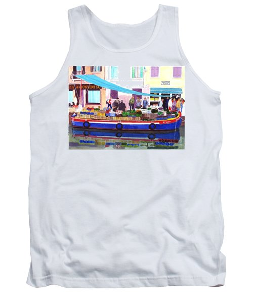 Floating Grocery Store Tank Top by Mike Robles