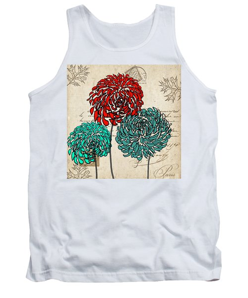Floral Delight Iv Tank Top