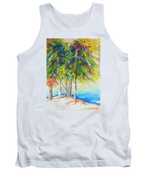 Florida Inspiration  Tank Top by Chrisann Ellis