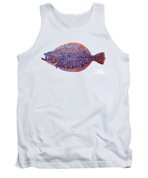 Flounder Tank Top by Carey Chen