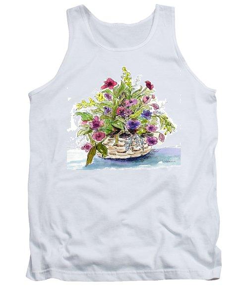 Flower Basket I Tank Top