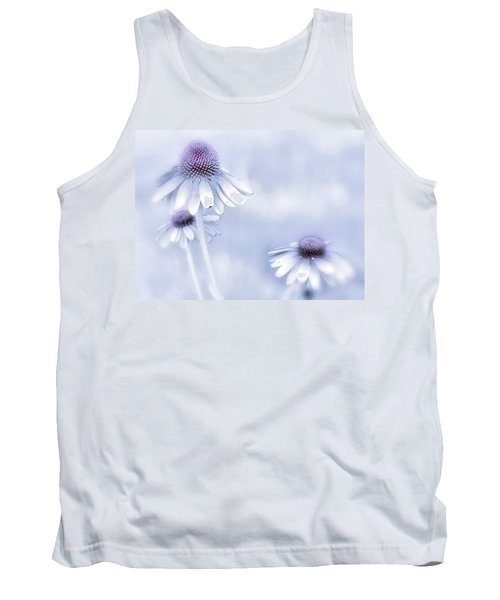 Tank Top featuring the photograph Flower Trio  by Andrea Kollo