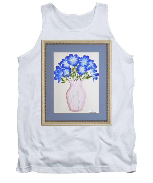 Flowers In A Vase Tank Top