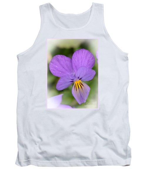 Flowers That Smile Tank Top by Kerri Farley
