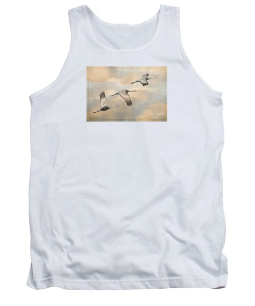 Fly Away Tank Top by Alice Cahill