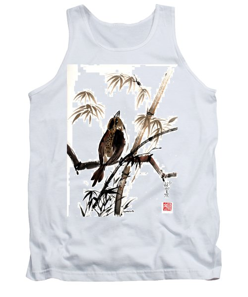 Tank Top featuring the painting Focus by Bill Searle