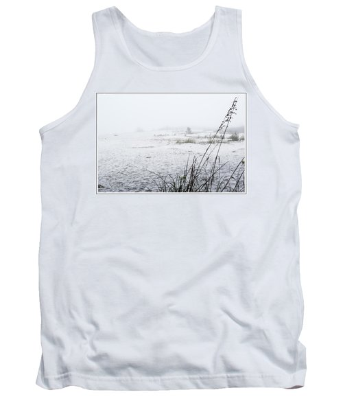Foggy Beach Tank Top