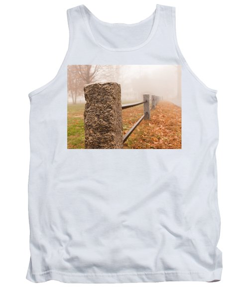 Foggy Morning In Ellington Tank Top