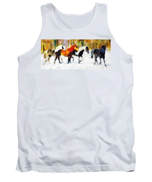 Follow The Leader Tank Top by Greg Collins