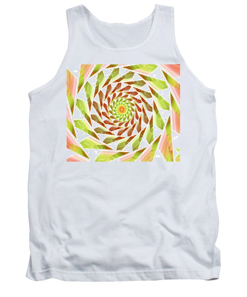 Tank Top featuring the digital art Abstract Swirls  by Ester  Rogers