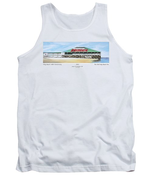 Folly Beach Original Pier Tank Top