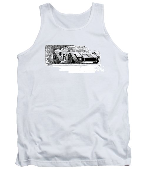 Ford Gt - 40 Tank Top