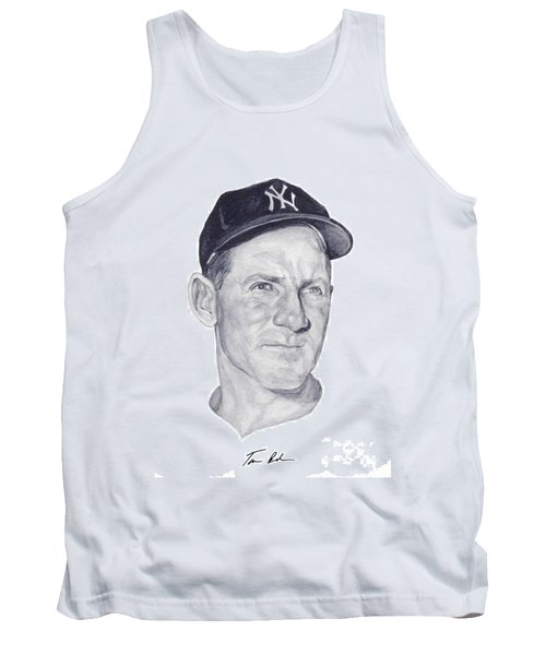 Tank Top featuring the painting Ford by Tamir Barkan