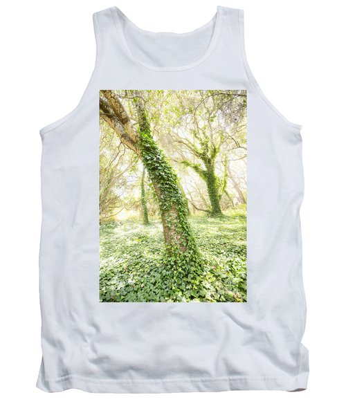 Forest Glow - The Magical Trees Of The Los Osos Oak Reserve Tank Top