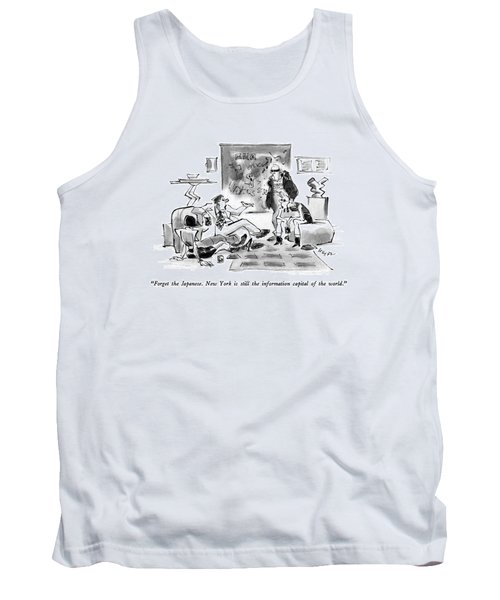 Forget The Japanese.  New York Is Still Tank Top
