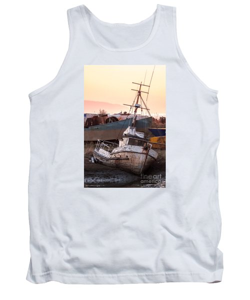 Tank Top featuring the digital art Forgotten In Homer by William Fields