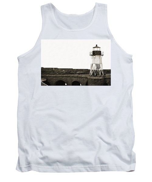 Fort Point Lighthouse Tank Top