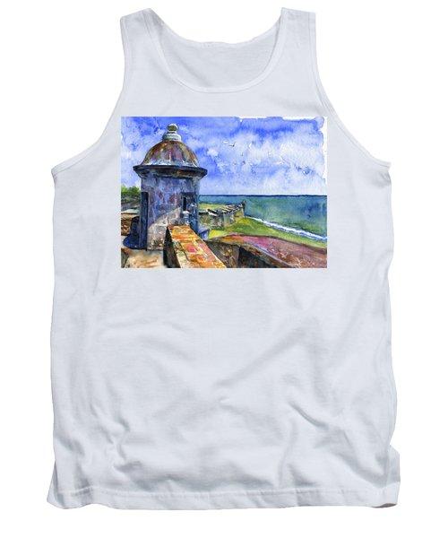 Fort San Juan Puerto Rico Tank Top