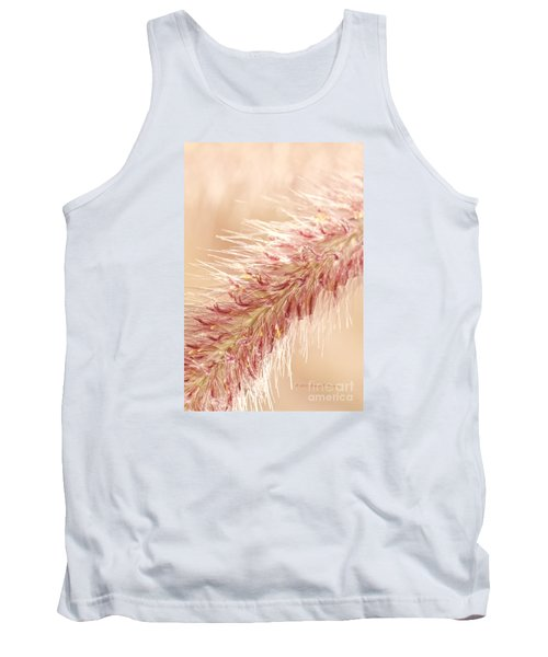Fountain Grass Blooms   Tank Top