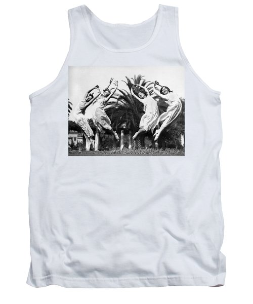 Four Leaping Grecian Dancers Tank Top