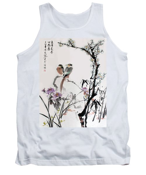 Four Seasons In Harmony Tank Top