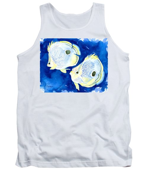 Foureye Butterflyfish Tank Top