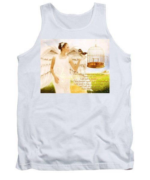 Freedom Song With Scripture Tank Top