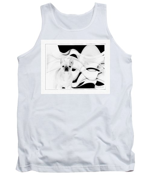 Tank Top featuring the painting French Bulldog by Barbara Chichester