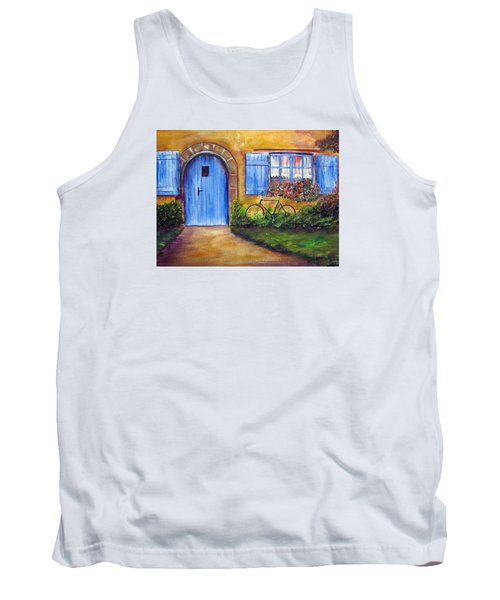 French Cottage Tank Top by Loretta Luglio
