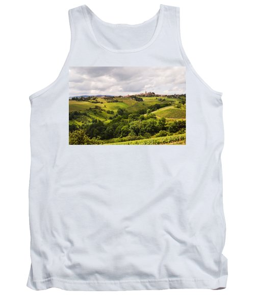 Tank Top featuring the photograph French Countryside by Allen Sheffield