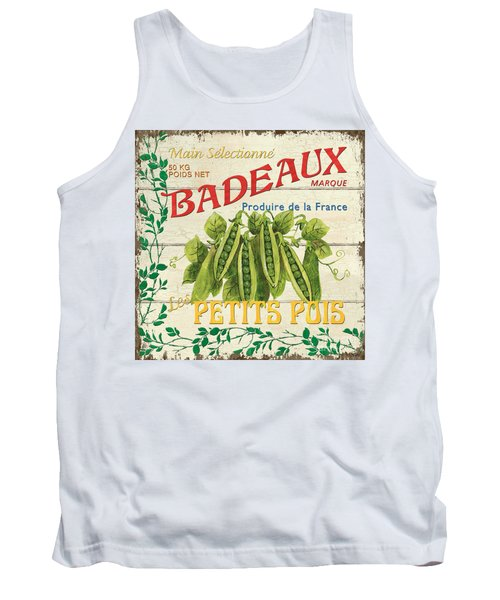 French Veggie Sign 1 Tank Top