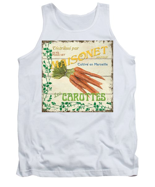 French Veggie Sign 2 Tank Top