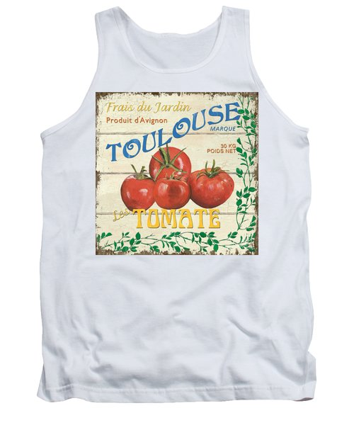 French Veggie Sign 3 Tank Top