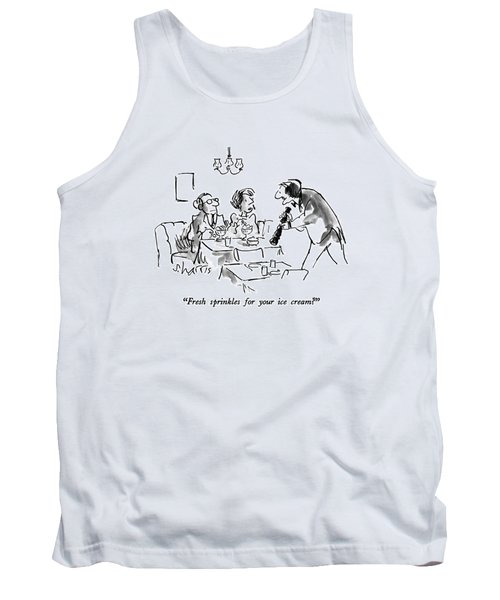 Fresh Sprinkles For Your Ice Cream? Tank Top