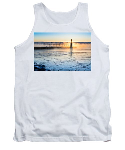 Frigid Sunrise Fog  Tank Top