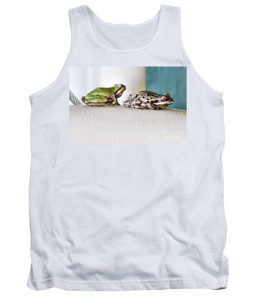 Frog Flatulence - A Case Study Tank Top
