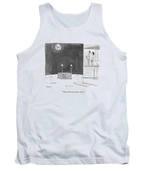 From An Apartment Window On The Moon Tank Top