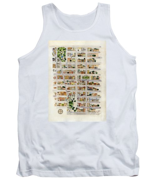 From Union Square To Madison Square Tank Top by AFineLyne